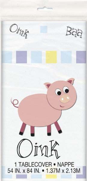 Animal Farm Plastic Tablecover